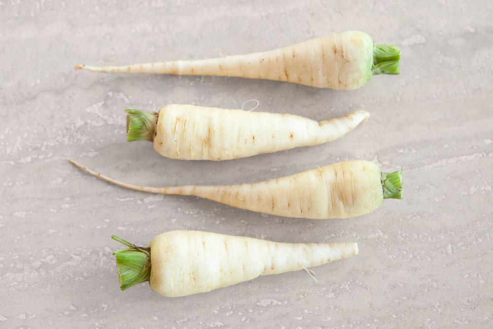 Fotografia di carote bianche di Küttingen