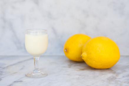 Foto di crema di limoncello